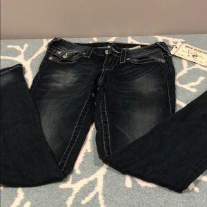NWT true religion skinny jeans sz 26
